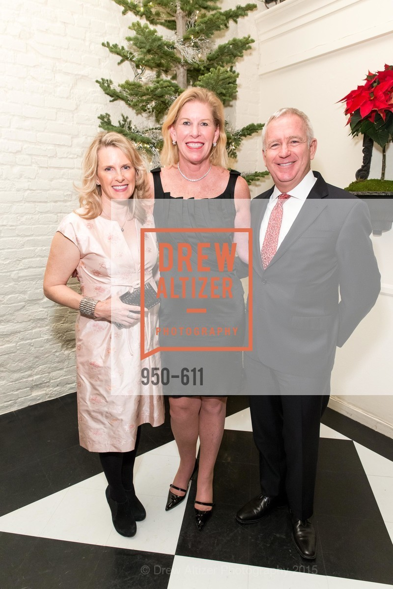 Marie Hurabiell, Jennifer Brandeburg, Glenn McCoy, San Francisco Ballet Auxiliary's Gala Launch party hosted by La Perla., VILLA TAVERA. 27 HOTALING PLACE, December 1st, 2015,Drew Altizer, Drew Altizer Photography, full-service agency, private events, San Francisco photographer, photographer california