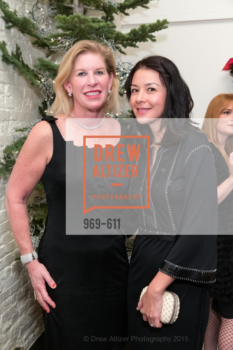 Jennifer Brandenburg, Phoebe Mireles, San Francisco Ballet Auxiliary's Gala Launch party hosted by La Perla., VILLA TAVERA. 27 HOTALING PLACE, December 1st, 2015,Drew Altizer, Drew Altizer Photography, full-service agency, private events, San Francisco photographer, photographer california