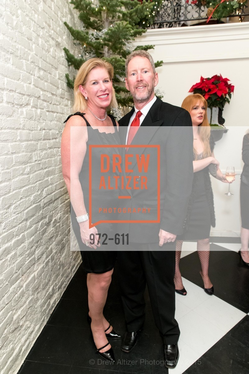 Jennifer Brandenburg, Bill Brandenburg, San Francisco Ballet Auxiliary's Gala Launch party hosted by La Perla., VILLA TAVERA. 27 HOTALING PLACE, December 1st, 2015,Drew Altizer, Drew Altizer Photography, full-service agency, private events, San Francisco photographer, photographer california