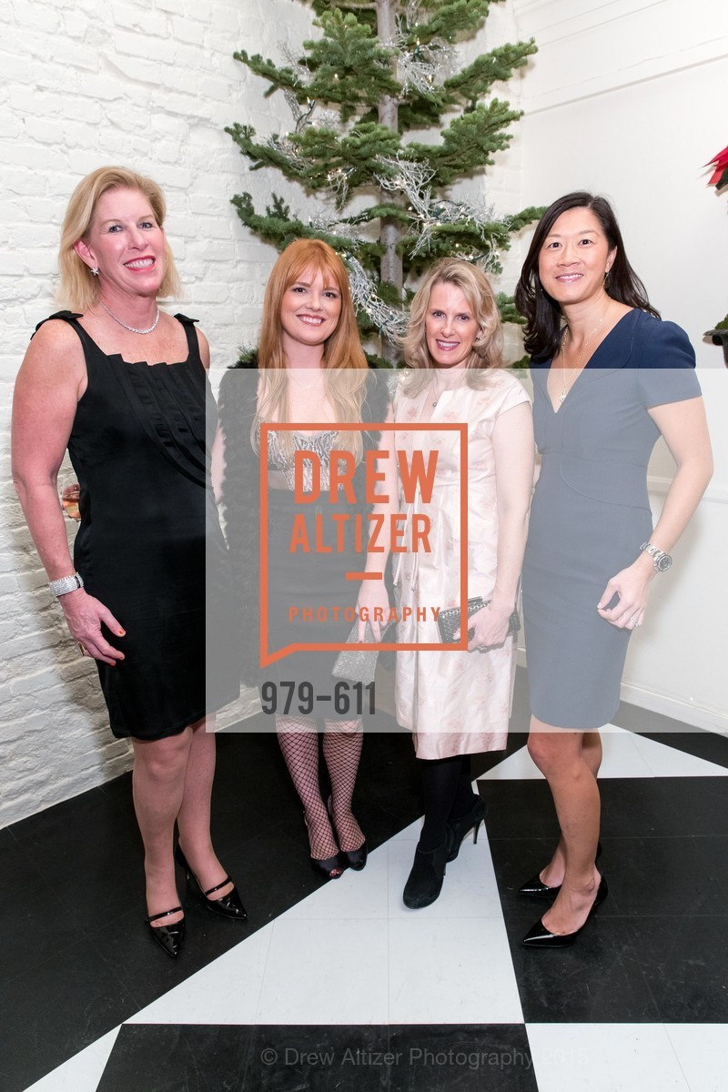 Jennifer Brandenburg, Lynn Yeager, Marie Hurabiell, Christine Leong Connors, San Francisco Ballet Auxiliary's Gala Launch party hosted by La Perla., VILLA TAVERA. 27 HOTALING PLACE, December 1st, 2015,Drew Altizer, Drew Altizer Photography, full-service agency, private events, San Francisco photographer, photographer california