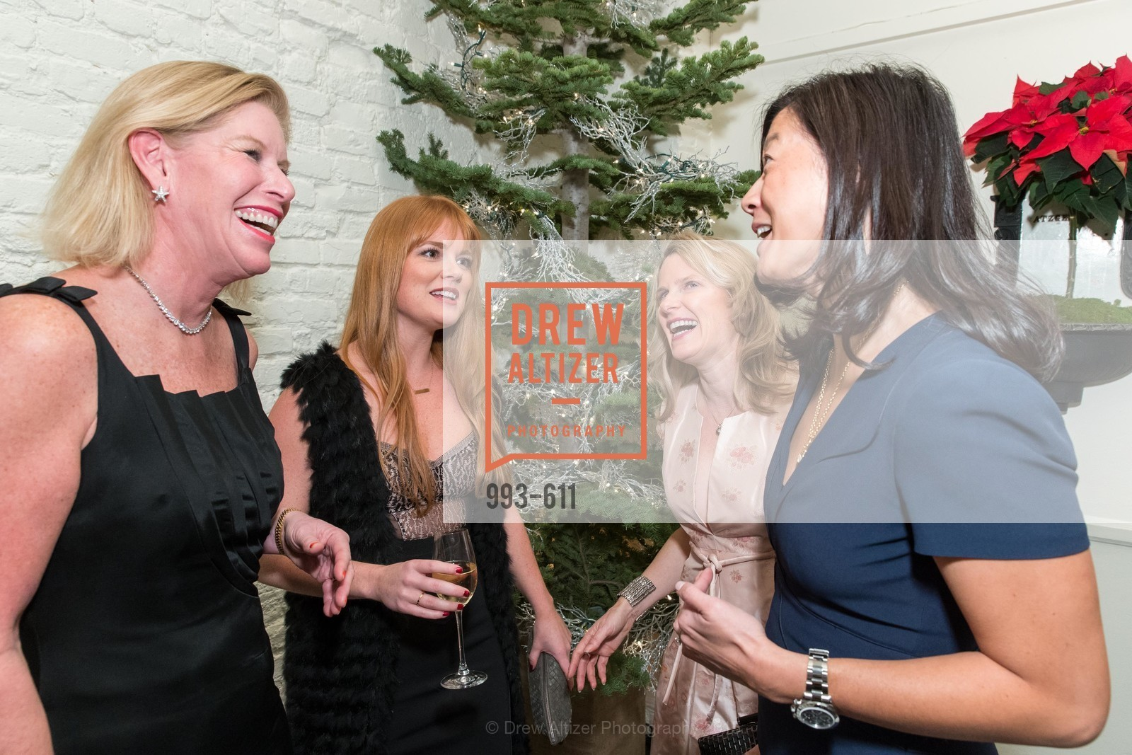 Jennifer Brandenburg, Lynn Yeager, Marie Hurabiell, Christine Leong Connors, San Francisco Ballet Auxiliary's Gala Launch party hosted by La Perla., VILLA TAVERA. 27 HOTALING PLACE, December 1st, 2015