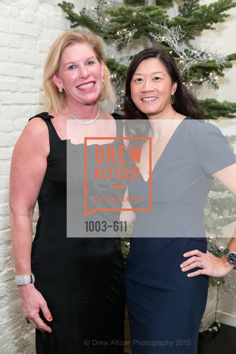 Jennifer Brandenburg, Christine Leong Connors, San Francisco Ballet Auxiliary's Gala Launch party hosted by La Perla., VILLA TAVERA. 27 HOTALING PLACE, December 1st, 2015,Drew Altizer, Drew Altizer Photography, full-service agency, private events, San Francisco photographer, photographer california