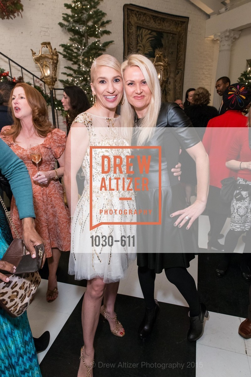 Navid Armstrong, Maria Ralph, San Francisco Ballet Auxiliary's Gala Launch party hosted by La Perla., VILLA TAVERA. 27 HOTALING PLACE, December 1st, 2015