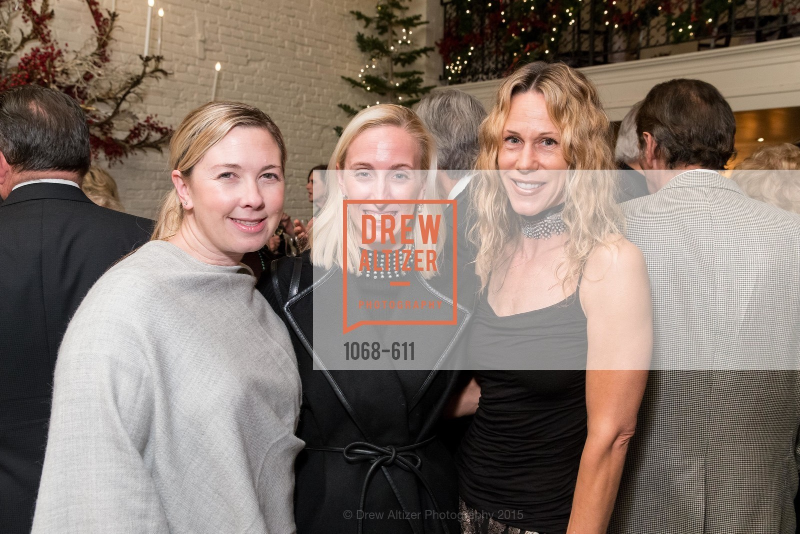 Michelle Harris, Maria Hemphill, Melissa Barber, San Francisco Ballet Auxiliary's Gala Launch party hosted by La Perla., VILLA TAVERA. 27 HOTALING PLACE, December 1st, 2015,Drew Altizer, Drew Altizer Photography, full-service agency, private events, San Francisco photographer, photographer california