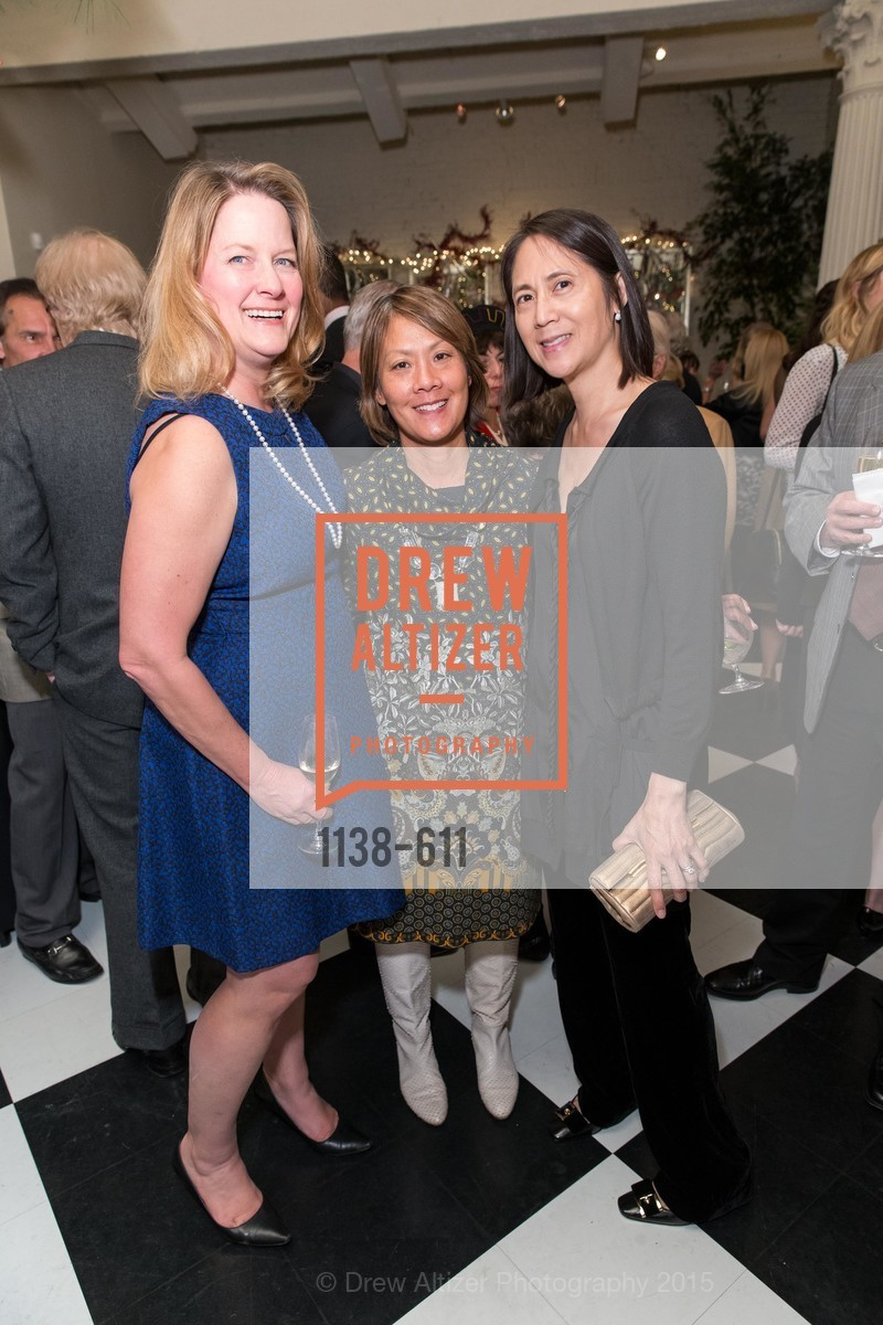Ann Baer, Virginia Price, Lydia Bartlett, San Francisco Ballet Auxiliary's Gala Launch party hosted by La Perla., VILLA TAVERA. 27 HOTALING PLACE, December 1st, 2015,Drew Altizer, Drew Altizer Photography, full-service agency, private events, San Francisco photographer, photographer california