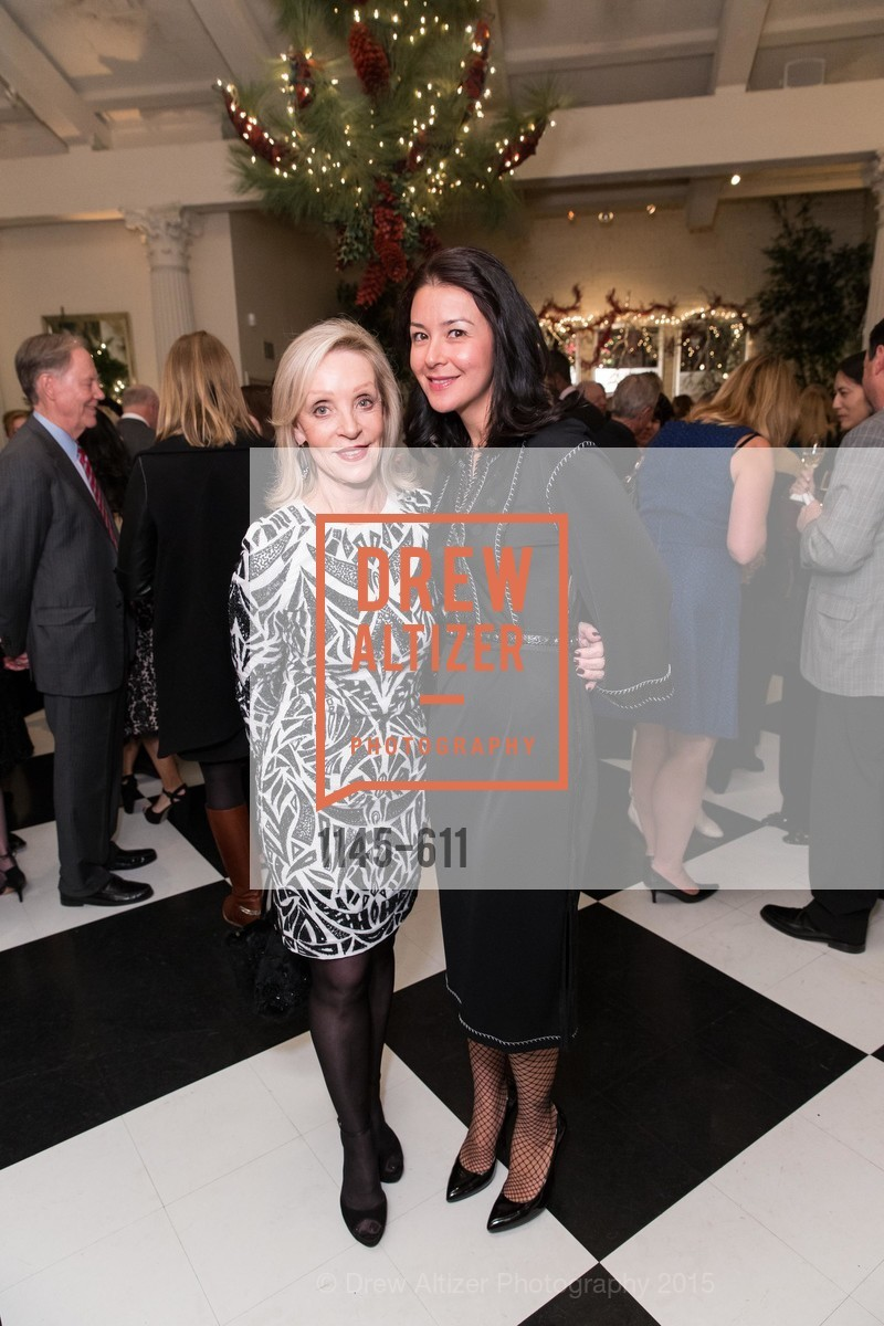 Barbara Brown, Phoebe Mireles, San Francisco Ballet Auxiliary's Gala Launch party hosted by La Perla., VILLA TAVERA. 27 HOTALING PLACE, December 1st, 2015,Drew Altizer, Drew Altizer Photography, full-service agency, private events, San Francisco photographer, photographer california