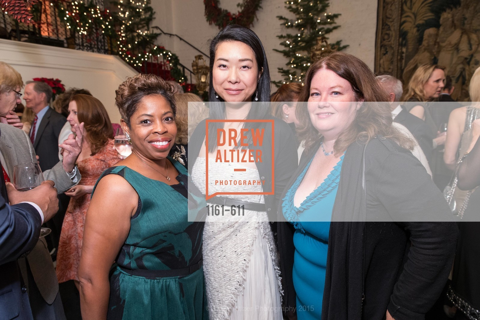 Stephanie Russell, Eri Takahashi, Catherine Bergstrom, San Francisco Ballet Auxiliary's Gala Launch party hosted by La Perla., VILLA TAVERA. 27 HOTALING PLACE, December 1st, 2015,Drew Altizer, Drew Altizer Photography, full-service agency, private events, San Francisco photographer, photographer california