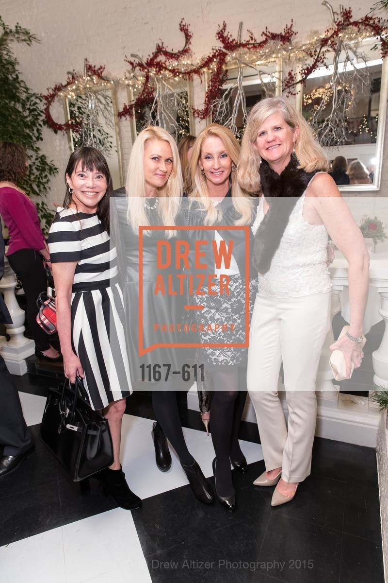 France Szeto, Maria Ralph, Jeannie Harris, Meg Ruxton, San Francisco Ballet Auxiliary's Gala Launch party hosted by La Perla., VILLA TAVERA. 27 HOTALING PLACE, December 1st, 2015,Drew Altizer, Drew Altizer Photography, full-service agency, private events, San Francisco photographer, photographer california
