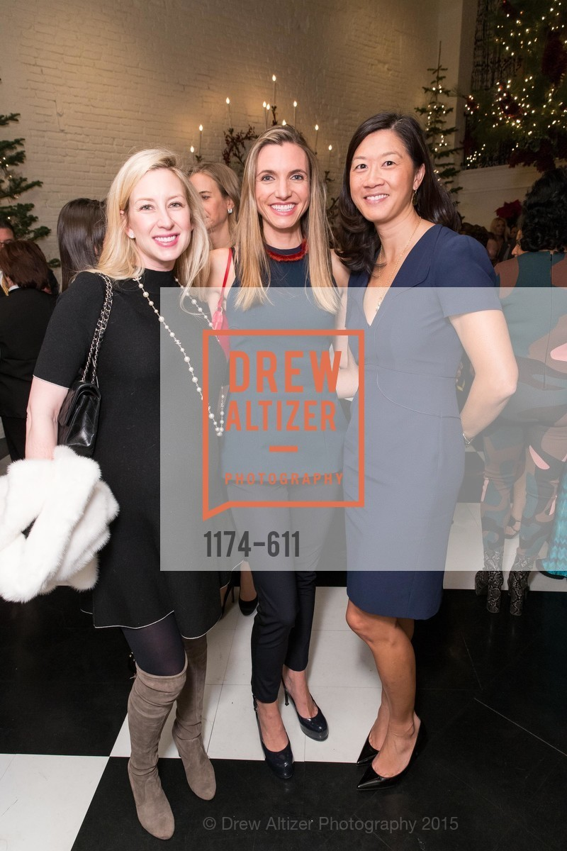 Lydia Bergman, Marisa Avansino, Christine Leong Connors, San Francisco Ballet Auxiliary's Gala Launch party hosted by La Perla., VILLA TAVERA. 27 HOTALING PLACE, December 1st, 2015,Drew Altizer, Drew Altizer Photography, full-service agency, private events, San Francisco photographer, photographer california