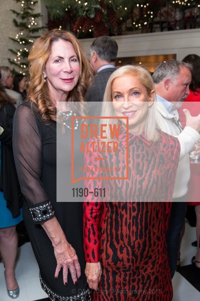 Patricia Ferrin Loucks, Shelley Gordon, San Francisco Ballet Auxiliary's Gala Launch party hosted by La Perla., VILLA TAVERA. 27 HOTALING PLACE, December 1st, 2015,Drew Altizer, Drew Altizer Photography, full-service agency, private events, San Francisco photographer, photographer california