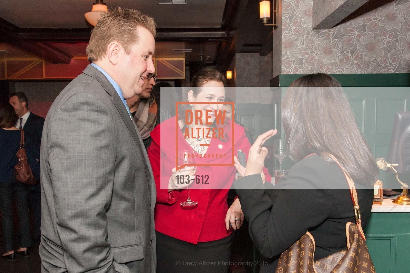Matt Skryja, Amy Bacharach, San Francisco Magazine Power Issue, Cafe du Nord. 2174 Market St, December 1st, 2015,Drew Altizer, Drew Altizer Photography, full-service agency, private events, San Francisco photographer, photographer california