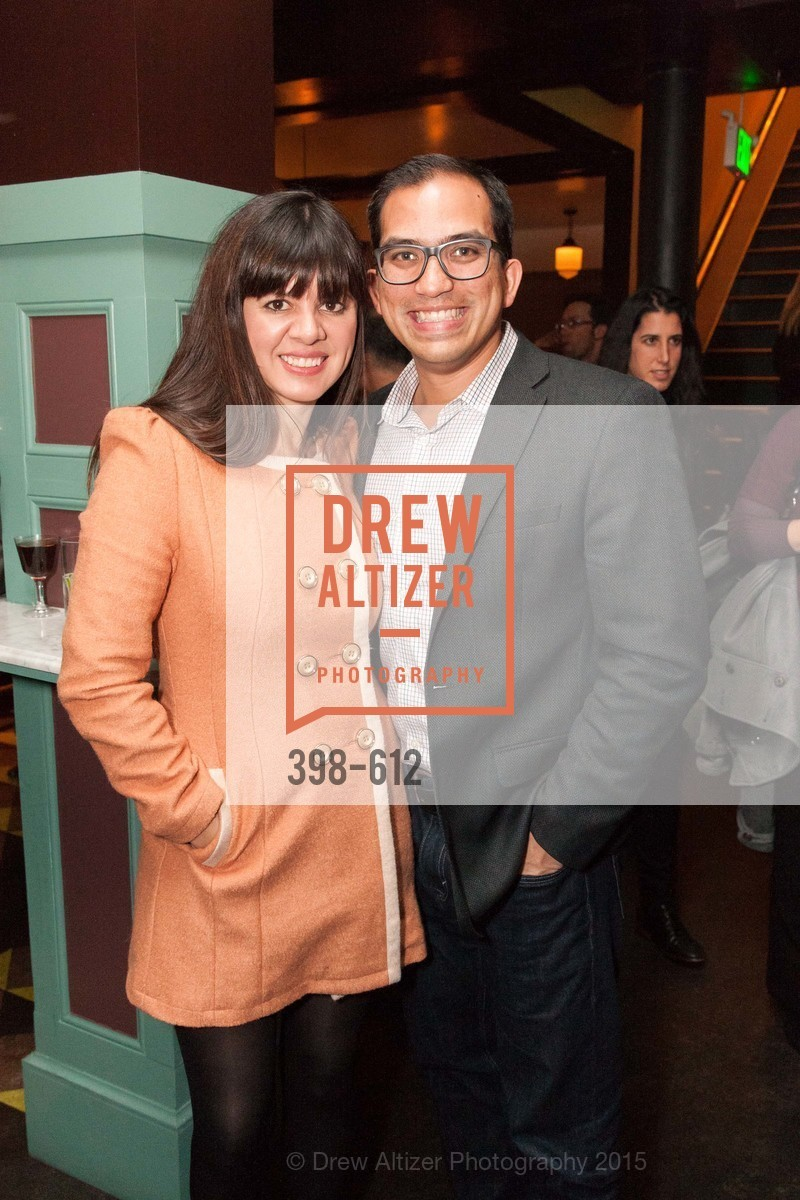 Laura Gomez, Pablo Perez, San Francisco Magazine Power Issue, Cafe du Nord. 2174 Market St, December 1st, 2015,Drew Altizer, Drew Altizer Photography, full-service agency, private events, San Francisco photographer, photographer california