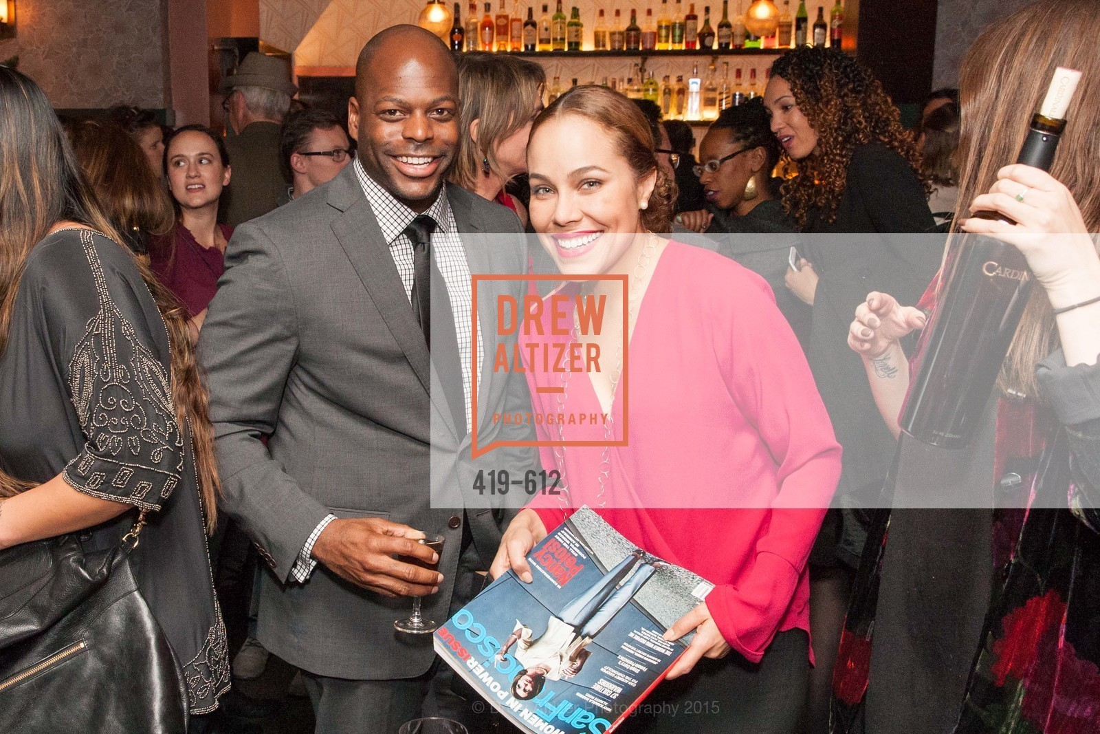 Mawuli Tugbenyoh, Marisa Rodriguez, San Francisco Magazine Power Issue, Cafe du Nord. 2174 Market St, December 1st, 2015,Drew Altizer, Drew Altizer Photography, full-service event agency, private events, San Francisco photographer, photographer California