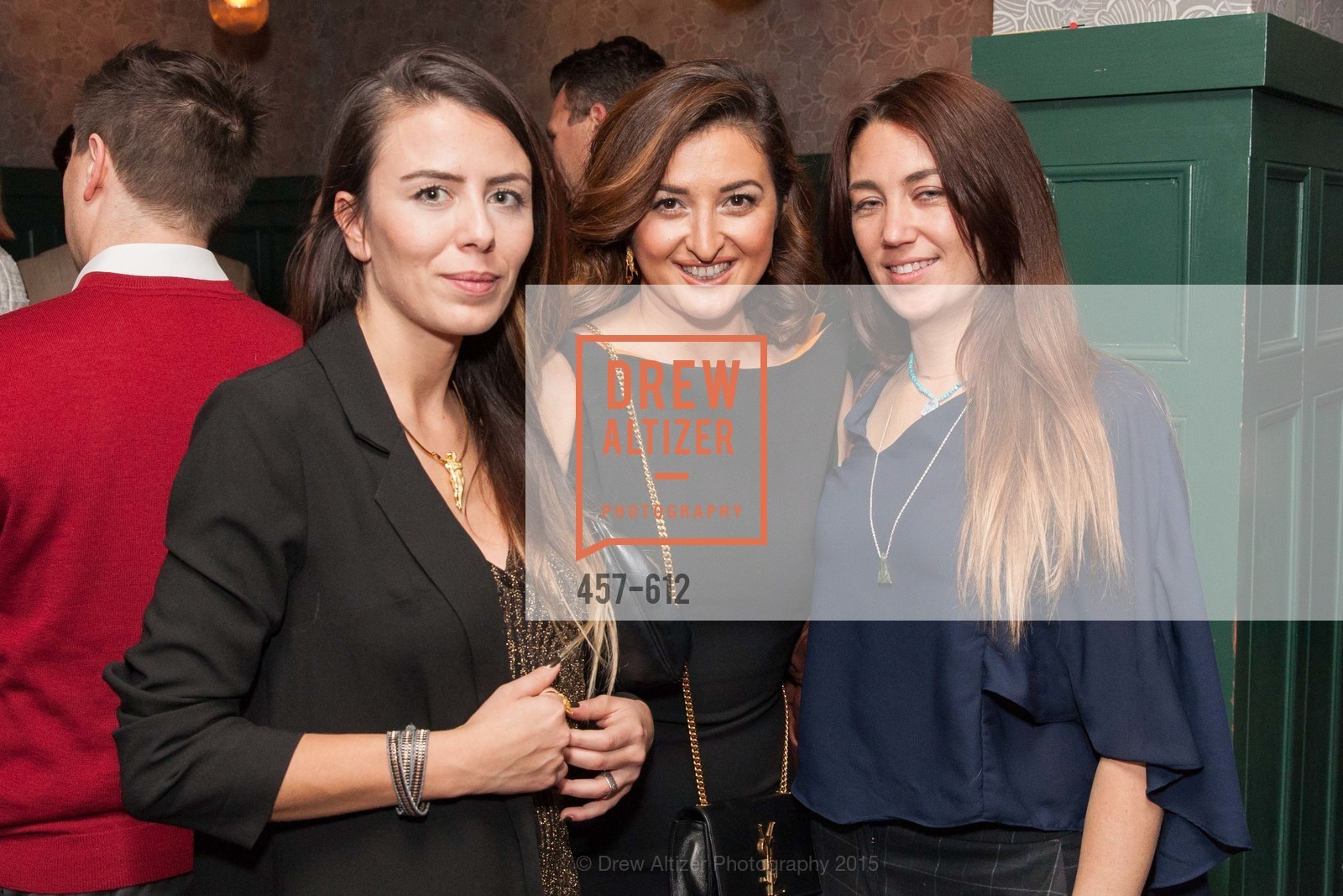 Pinar Aybars, Afag Shukurova, Julia Szendrei, San Francisco Magazine Power Issue, Cafe du Nord. 2174 Market St, December 1st, 2015,Drew Altizer, Drew Altizer Photography, full-service agency, private events, San Francisco photographer, photographer california