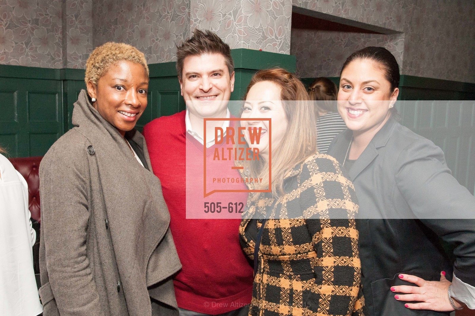 Abena Adjei, Pierre Gulick, Gabriela Gulick, Gina Garcia, San Francisco Magazine Power Issue, Cafe du Nord. 2174 Market St, December 1st, 2015,Drew Altizer, Drew Altizer Photography, full-service agency, private events, San Francisco photographer, photographer california