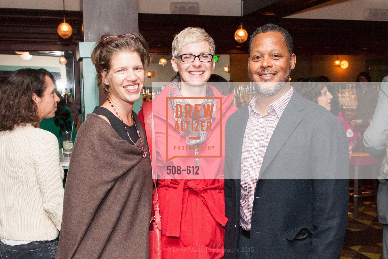 Kate Sofis, Maureen Futtner, Juan Doubrechat, San Francisco Magazine Power Issue, Cafe du Nord. 2174 Market St, December 1st, 2015,Drew Altizer, Drew Altizer Photography, full-service agency, private events, San Francisco photographer, photographer california