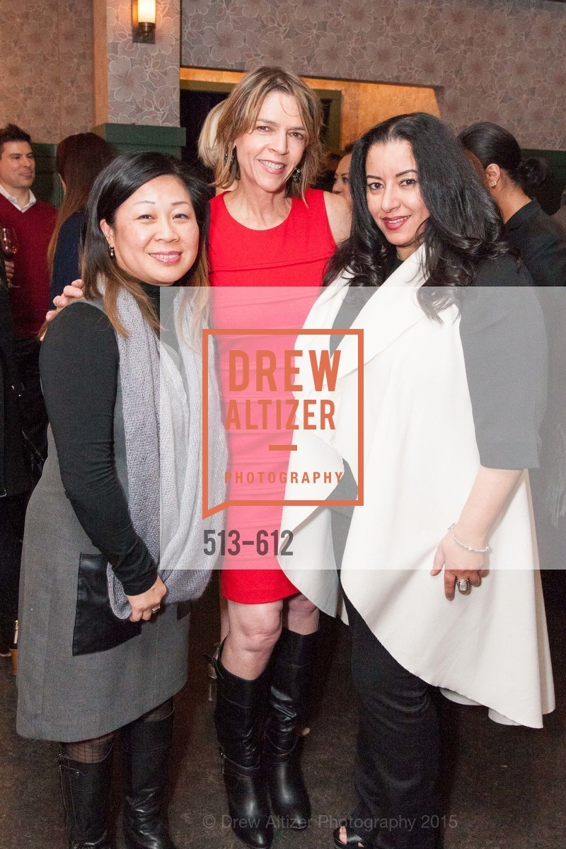 Darlene Chiu Bryant, Beth Schnitzer, Hala Hijazi, San Francisco Magazine Power Issue, Cafe du Nord. 2174 Market St, December 1st, 2015,Drew Altizer, Drew Altizer Photography, full-service agency, private events, San Francisco photographer, photographer california