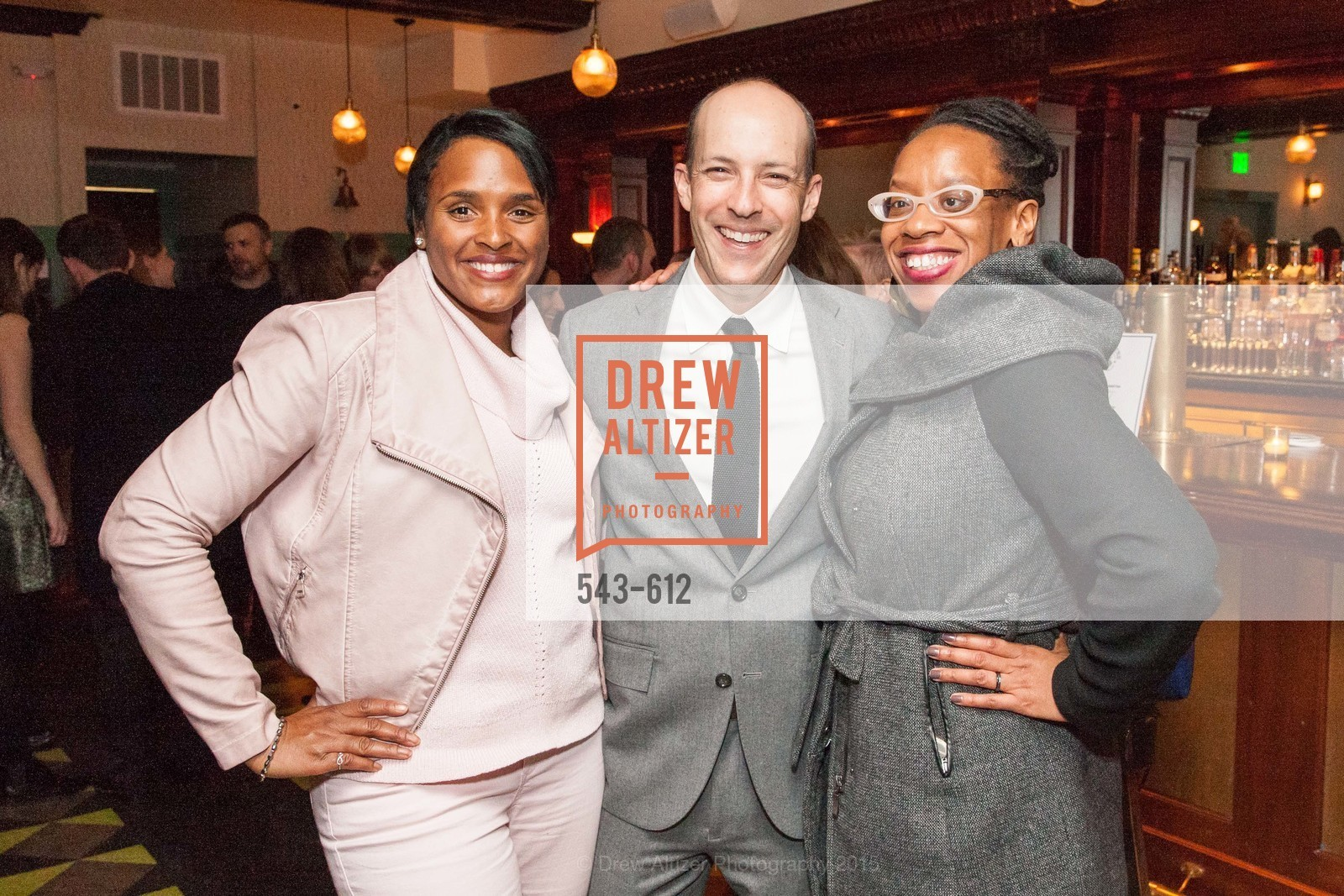 Kimberly Ellis, Jon Steinberg, Lateefah Simon, San Francisco Magazine Power Issue, Cafe du Nord. 2174 Market St, December 1st, 2015,Drew Altizer, Drew Altizer Photography, full-service agency, private events, San Francisco photographer, photographer california