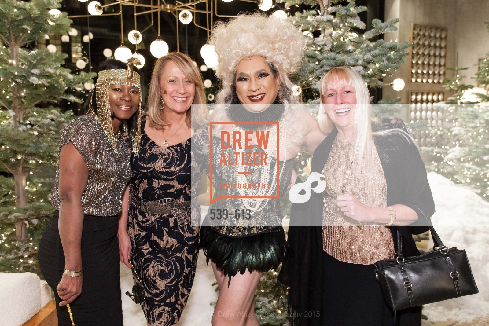 Norma Ryles, Rosanna Alba, Gioi Tran, Cathleen Gouveia, Go Gold ASID Holiday Party, Coup D'etat Showroom. 111 Rhode Island St. #1, December 1st, 2015,Drew Altizer, Drew Altizer Photography, full-service event agency, private events, San Francisco photographer, photographer California