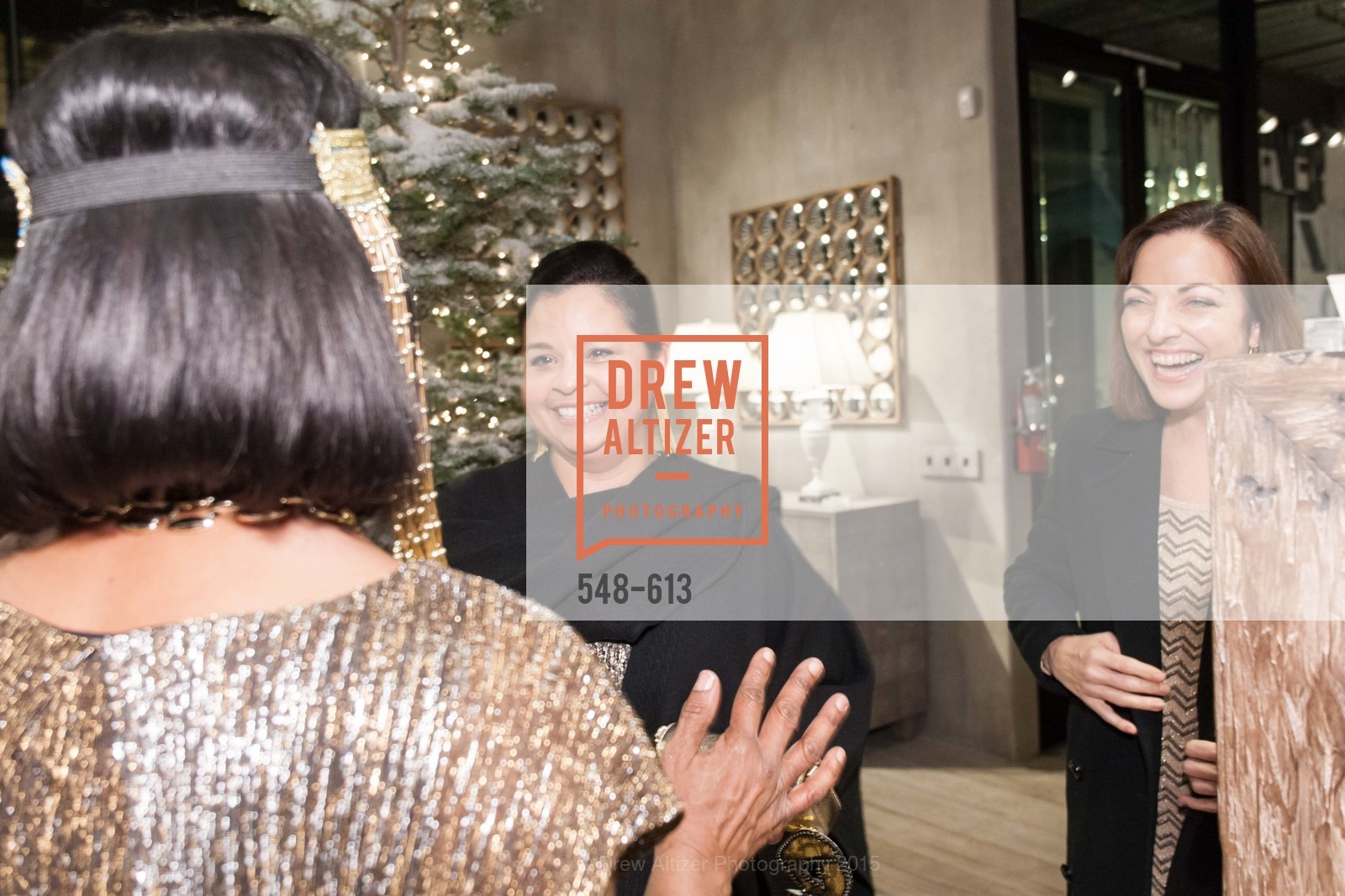 Cita Rojas-Sila, Joan Livingston, Go Gold ASID Holiday Party, Coup D'etat Showroom. 111 Rhode Island St. #1, December 1st, 2015,Drew Altizer, Drew Altizer Photography, full-service agency, private events, San Francisco photographer, photographer california
