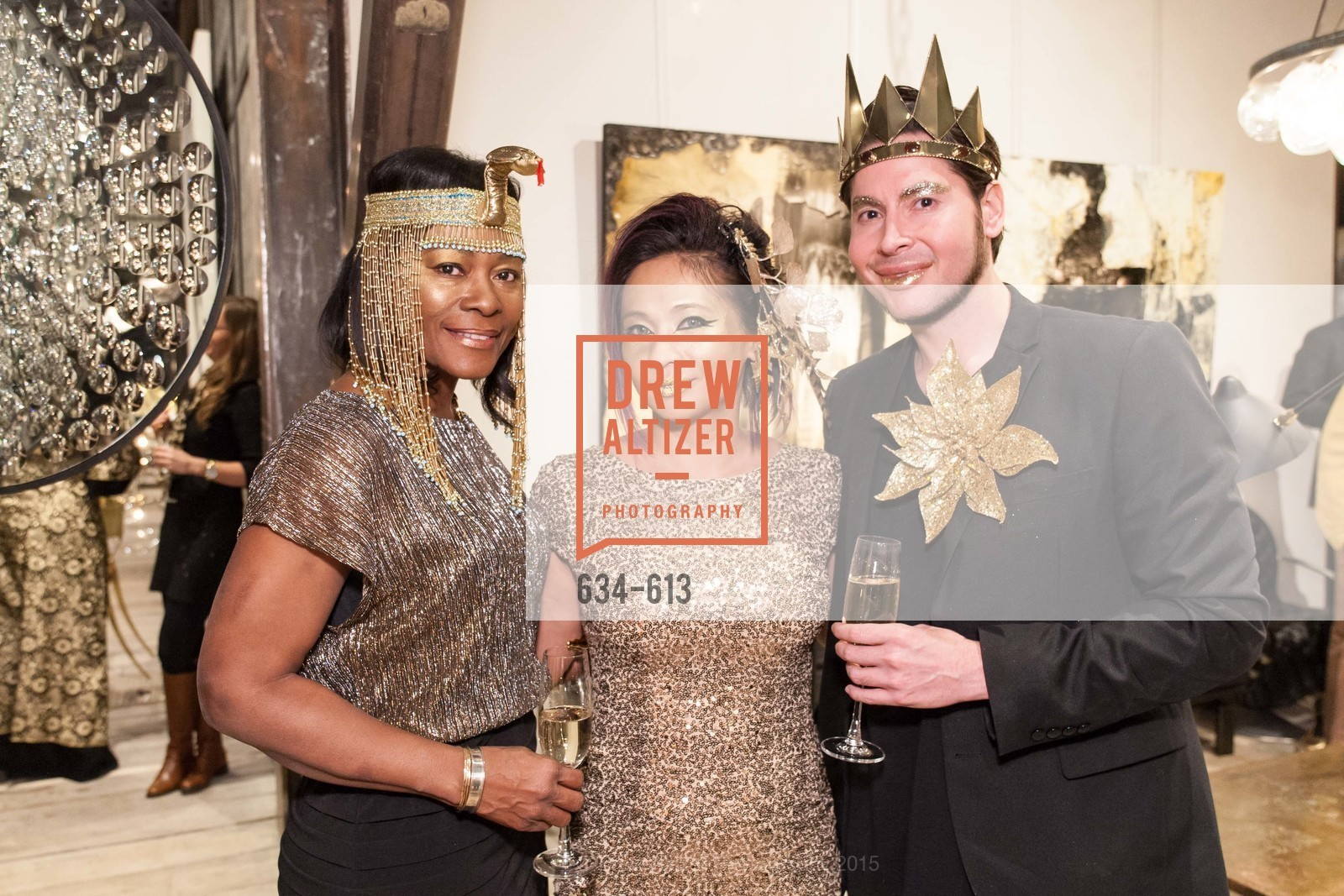 Norma Ryles, Piat Orendain, Victor Hinajos, Go Gold ASID Holiday Party, Coup D'etat Showroom. 111 Rhode Island St. #1, December 1st, 2015,Drew Altizer, Drew Altizer Photography, full-service agency, private events, San Francisco photographer, photographer california
