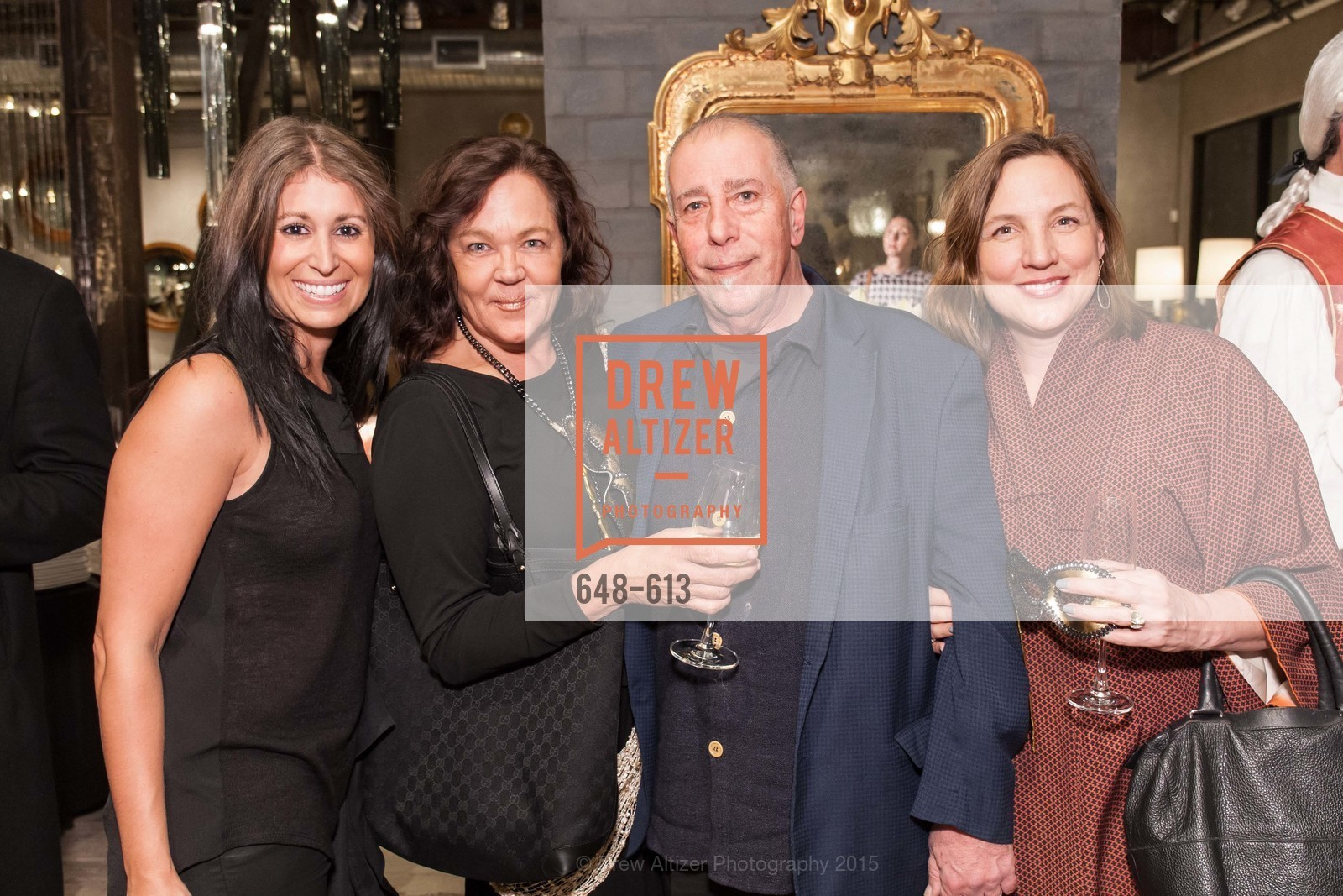 Lizette Brookstein, Karen McMullen, James Bacci, Annette Shute, Go Gold ASID Holiday Party, Coup D'etat Showroom. 111 Rhode Island St. #1, December 1st, 2015,Drew Altizer, Drew Altizer Photography, full-service agency, private events, San Francisco photographer, photographer california