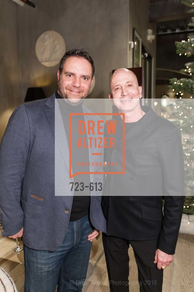 Antonio Martins, Alfredo Gregory, Go Gold ASID Holiday Party, Coup D'etat Showroom. 111 Rhode Island St. #1, December 1st, 2015,Drew Altizer, Drew Altizer Photography, full-service agency, private events, San Francisco photographer, photographer california