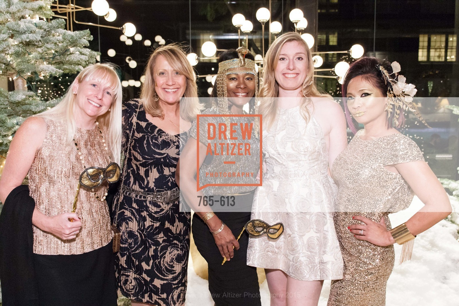 Cathleen Gouveia, Rosanna Alba, Norma Ryles, Katherine Tincher, Piat Orendain, Go Gold ASID Holiday Party, Coup D'etat Showroom. 111 Rhode Island St. #1, December 1st, 2015,Drew Altizer, Drew Altizer Photography, full-service agency, private events, San Francisco photographer, photographer california