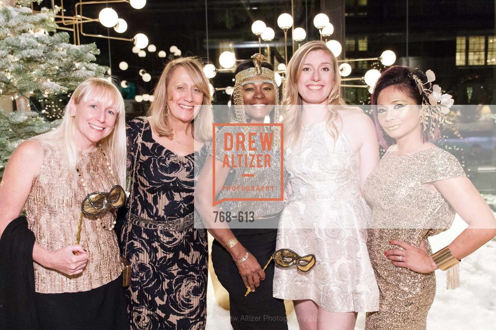 Cathleen Gouveia, Rosanna Alba, Norma Ryles, Katherine Kinser, Piat Orendain, Go Gold ASID Holiday Party, Coup D'etat Showroom. 111 Rhode Island St. #1, December 1st, 2015,Drew Altizer, Drew Altizer Photography, full-service agency, private events, San Francisco photographer, photographer california