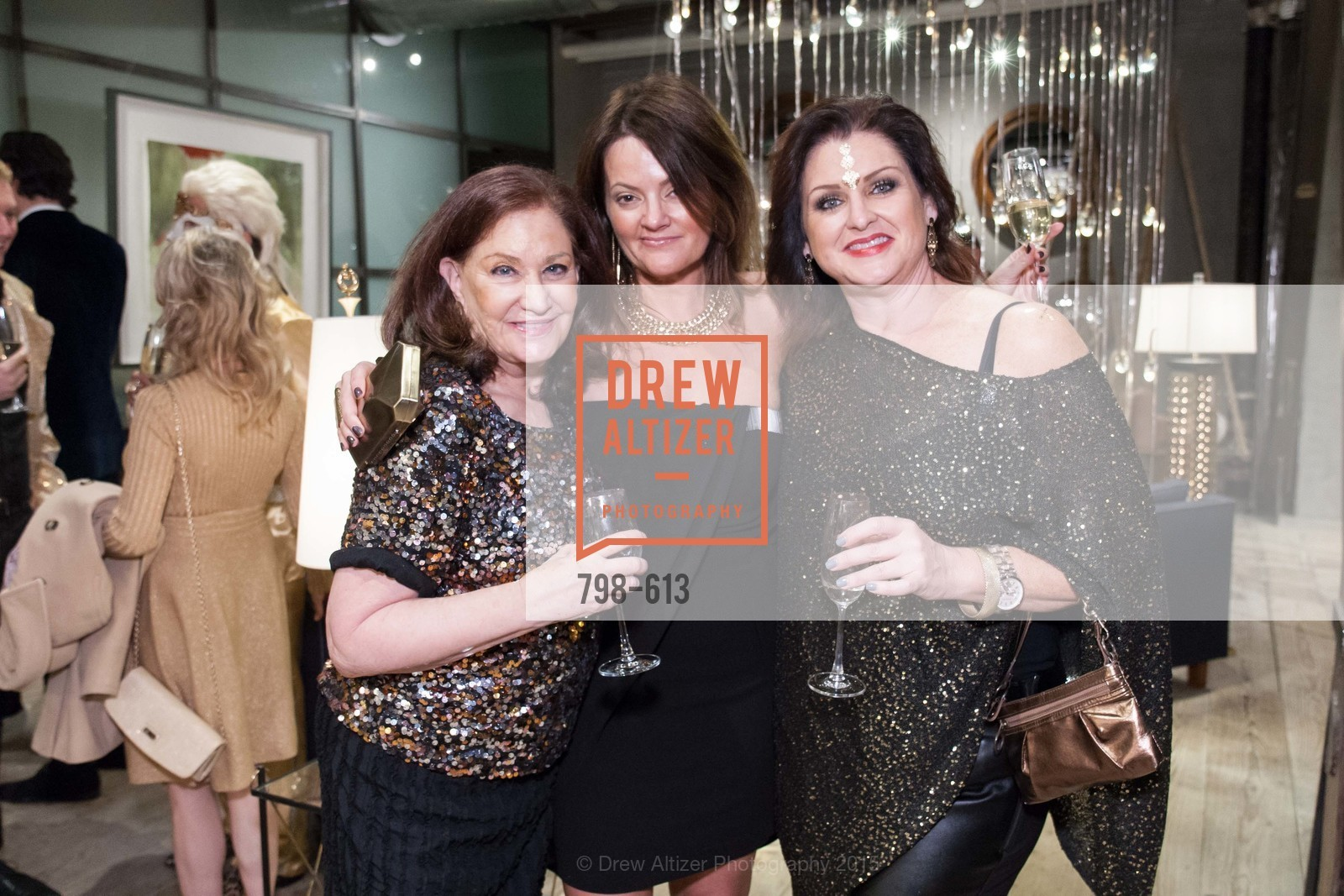 Phyllis Mason, Julie Arcino, Carrie Hensel, Go Gold ASID Holiday Party, Coup D'etat Showroom. 111 Rhode Island St. #1, December 1st, 2015,Drew Altizer, Drew Altizer Photography, full-service agency, private events, San Francisco photographer, photographer california