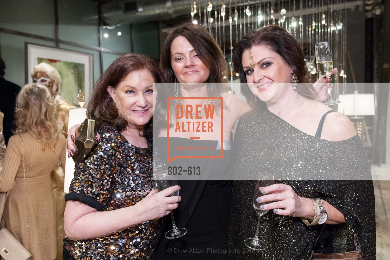 Phyllis Mason, Julie Arcino, Carrie Hensel, Go Gold ASID Holiday Party, Coup D'etat Showroom. 111 Rhode Island St. #1, December 1st, 2015,Drew Altizer, Drew Altizer Photography, full-service event agency, private events, San Francisco photographer, photographer California