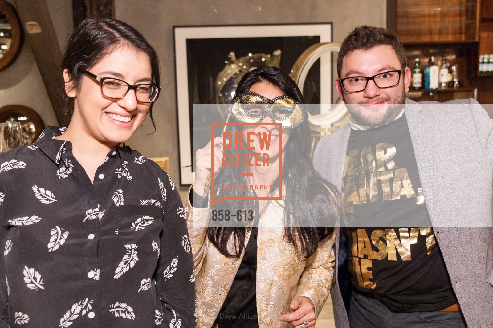 Yagira Galena, Helena Jausas, Edwin Rodriguez, Go Gold ASID Holiday Party, Coup D'etat Showroom. 111 Rhode Island St. #1, December 1st, 2015,Drew Altizer, Drew Altizer Photography, full-service agency, private events, San Francisco photographer, photographer california