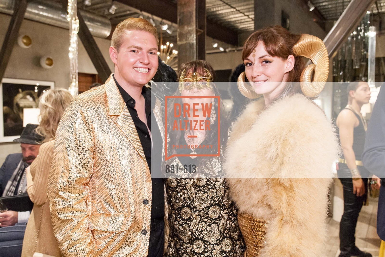 Brice Stanek, Claudia Juestel, Whitney White, Go Gold ASID Holiday Party, Coup D'etat Showroom. 111 Rhode Island St. #1, December 1st, 2015,Drew Altizer, Drew Altizer Photography, full-service agency, private events, San Francisco photographer, photographer california