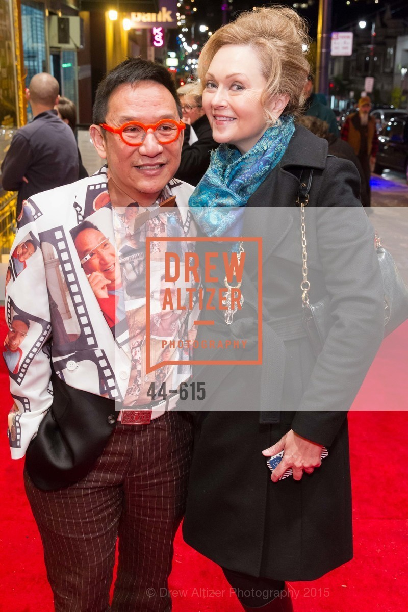 Tuan Tran, Elaine Lamastra, Jennifer Siebel Newsom's Castro Screening The Mask You Live In, Castro Theatre. 429 Castro Street, December 2nd, 2015,Drew Altizer, Drew Altizer Photography, full-service agency, private events, San Francisco photographer, photographer california
