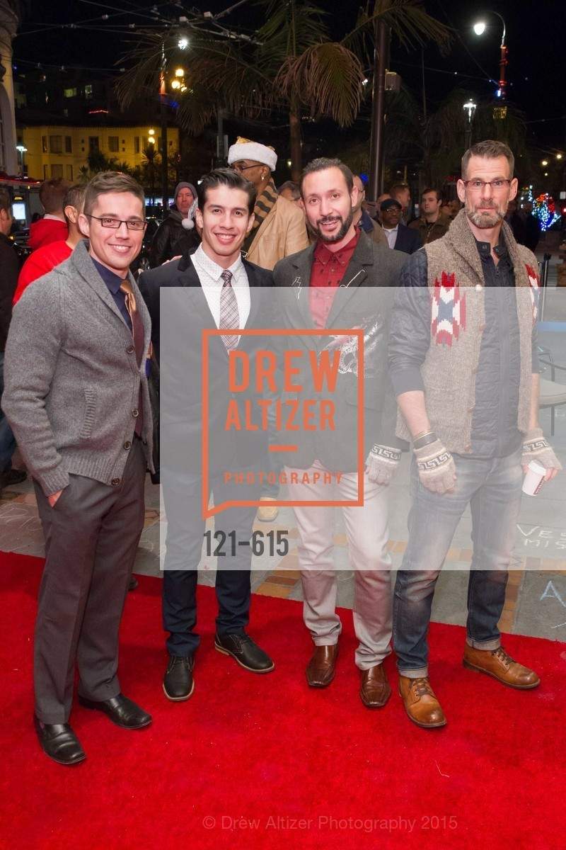 Ed Maya, Gio Perez, Cory Knox, Franck Perry, Jennifer Siebel Newsom's Castro Screening The Mask You Live In, Castro Theatre. 429 Castro Street, December 2nd, 2015,Drew Altizer, Drew Altizer Photography, full-service event agency, private events, San Francisco photographer, photographer California