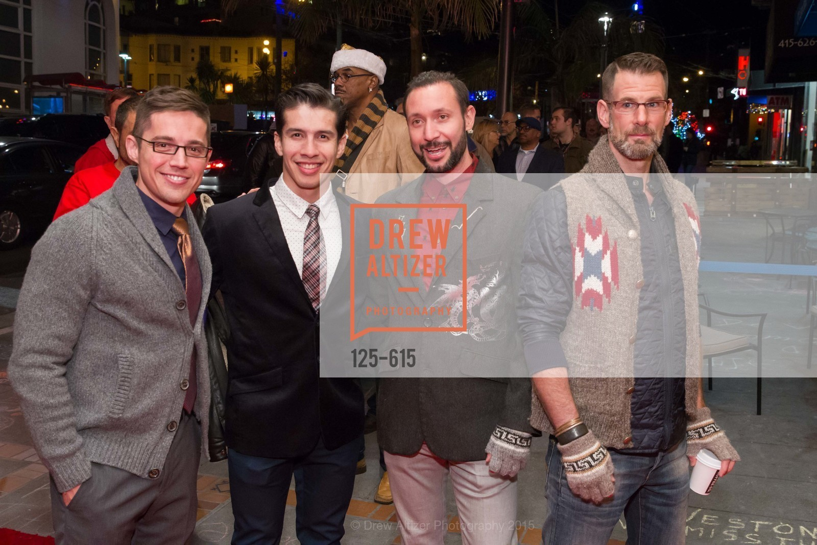 Ed Maya, Gio Perez, Cory Knox, Franck Perry, Jennifer Siebel Newsom's Castro Screening The Mask You Live In, Castro Theatre. 429 Castro Street, December 2nd, 2015,Drew Altizer, Drew Altizer Photography, full-service agency, private events, San Francisco photographer, photographer california