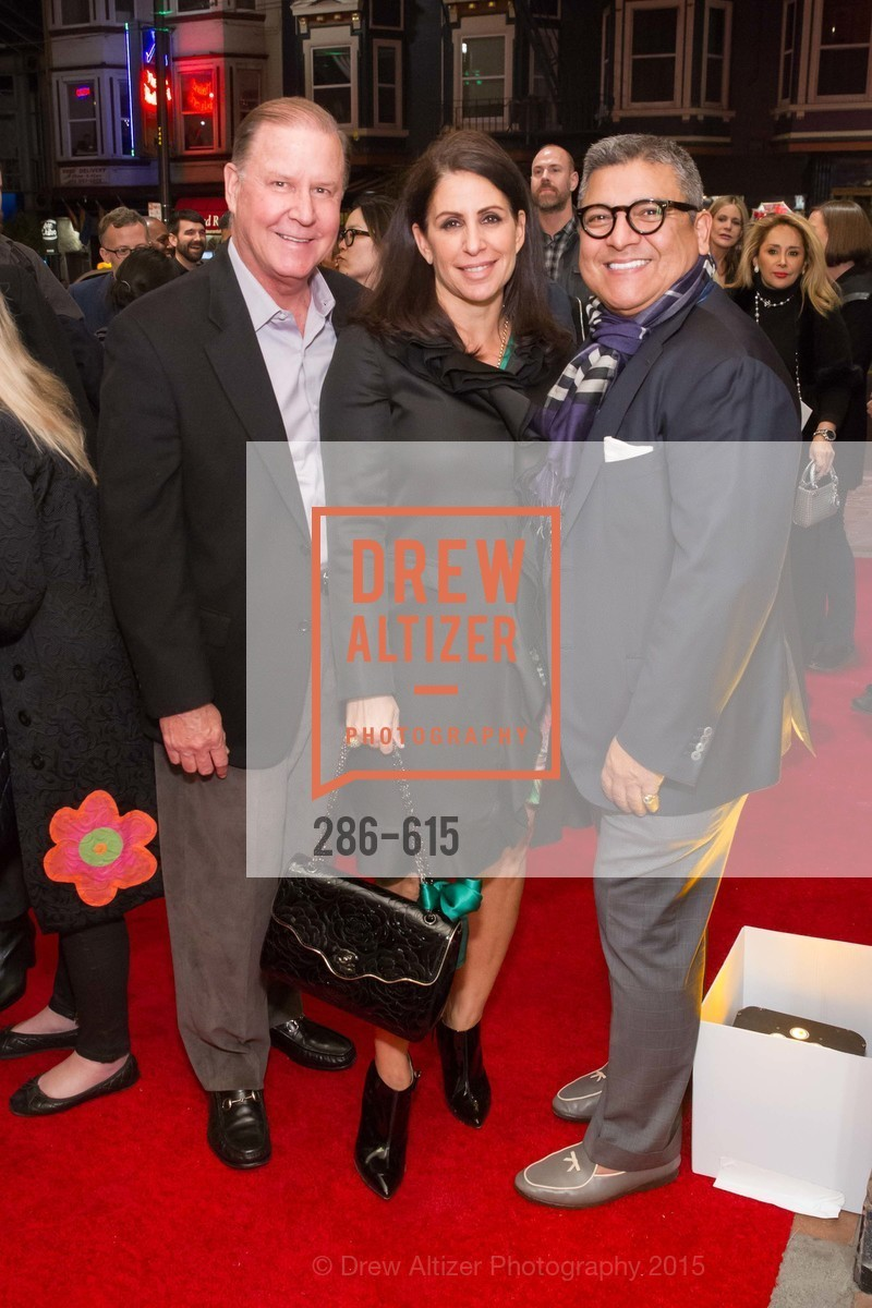 John Grotts, Lisa Grotts, Riccardo Benavides, Jennifer Siebel Newsom's Castro Screening The Mask You Live In, Castro Theatre. 429 Castro Street, December 2nd, 2015,Drew Altizer, Drew Altizer Photography, full-service event agency, private events, San Francisco photographer, photographer California