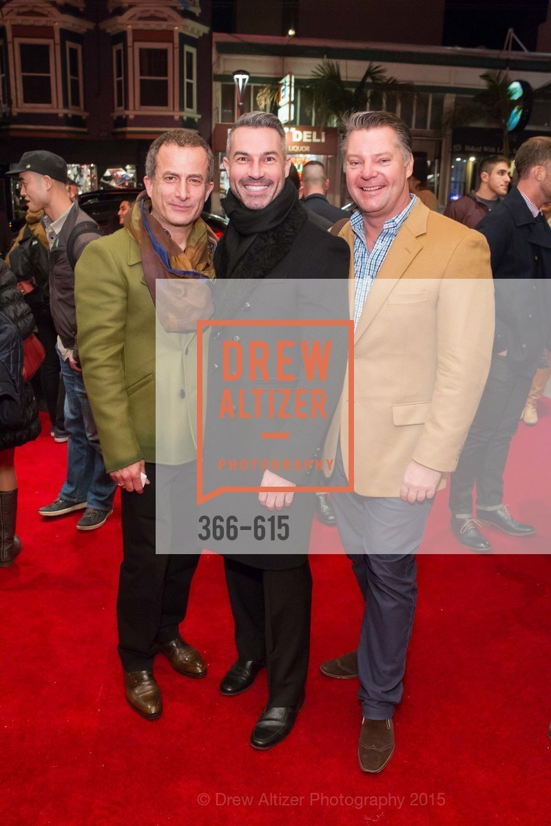 Jorge Maumer, Jerome Molles, Andreas Rippell, Jennifer Siebel Newsom's Castro Screening The Mask You Live In, Castro Theatre. 429 Castro Street, December 2nd, 2015,Drew Altizer, Drew Altizer Photography, full-service agency, private events, San Francisco photographer, photographer california