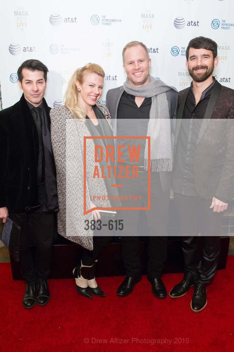Bacca de Silva, Amy Karle, John Hunt, Ben Julian, Jennifer Siebel Newsom's Castro Screening The Mask You Live In, Castro Theatre. 429 Castro Street, December 2nd, 2015,Drew Altizer, Drew Altizer Photography, full-service agency, private events, San Francisco photographer, photographer california