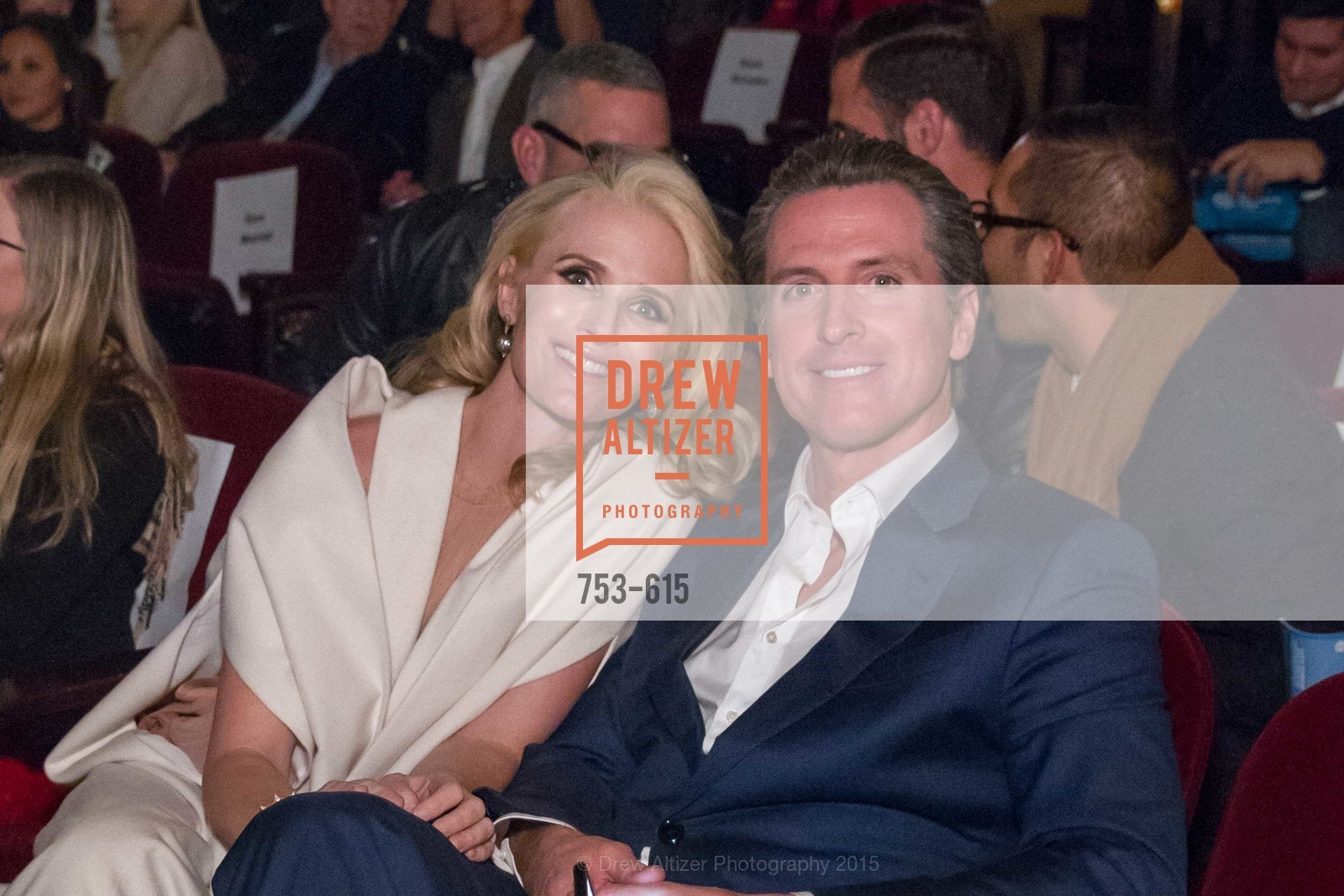 Jennifer Siebel Newsom, Gavin Newsom, Jennifer Siebel Newsom's Castro Screening The Mask You Live In, Castro Theatre. 429 Castro Street, December 2nd, 2015,Drew Altizer, Drew Altizer Photography, full-service agency, private events, San Francisco photographer, photographer california