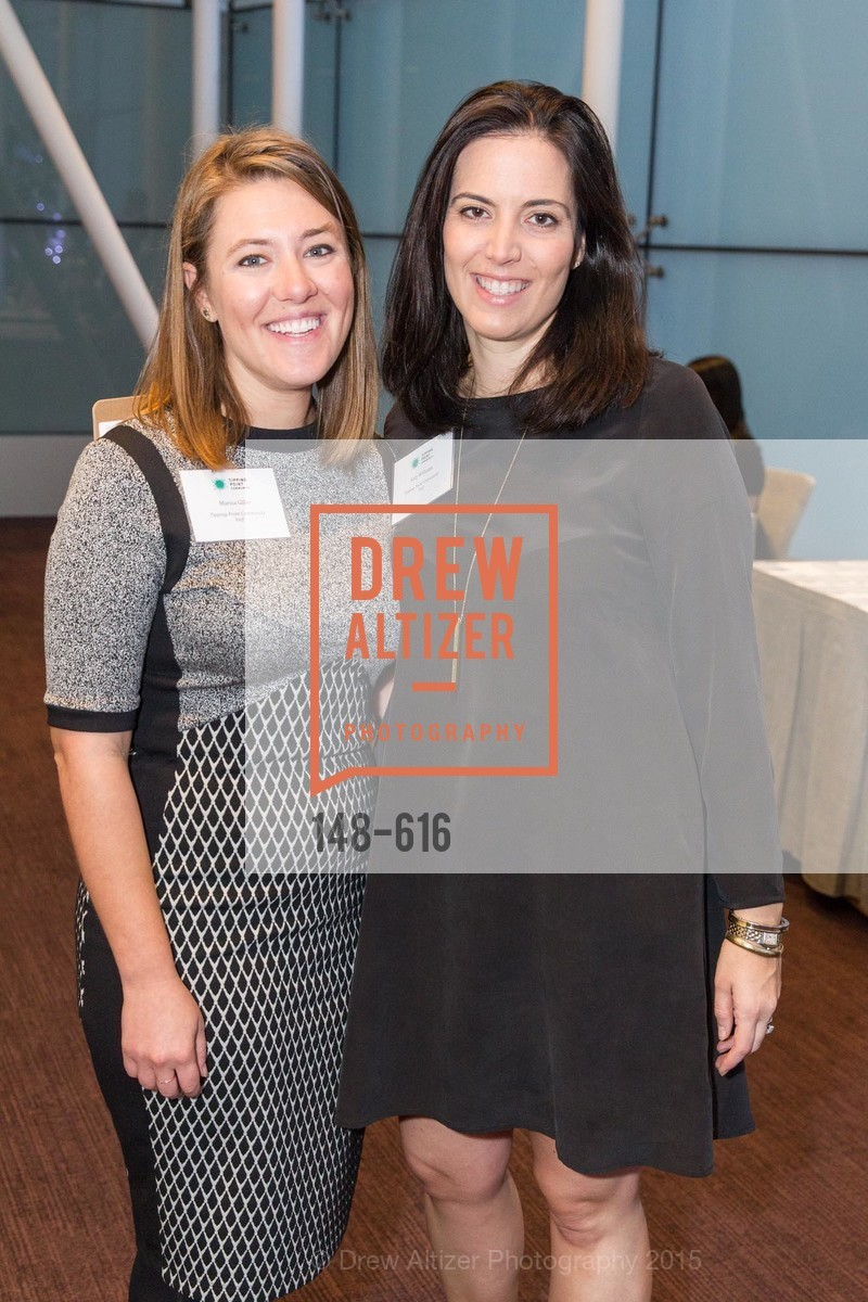 Marisa Giller, Katy Williams, Tipping Point's 2015 Breakfast, St. Regis. 125 3rd St, December 3rd, 2015