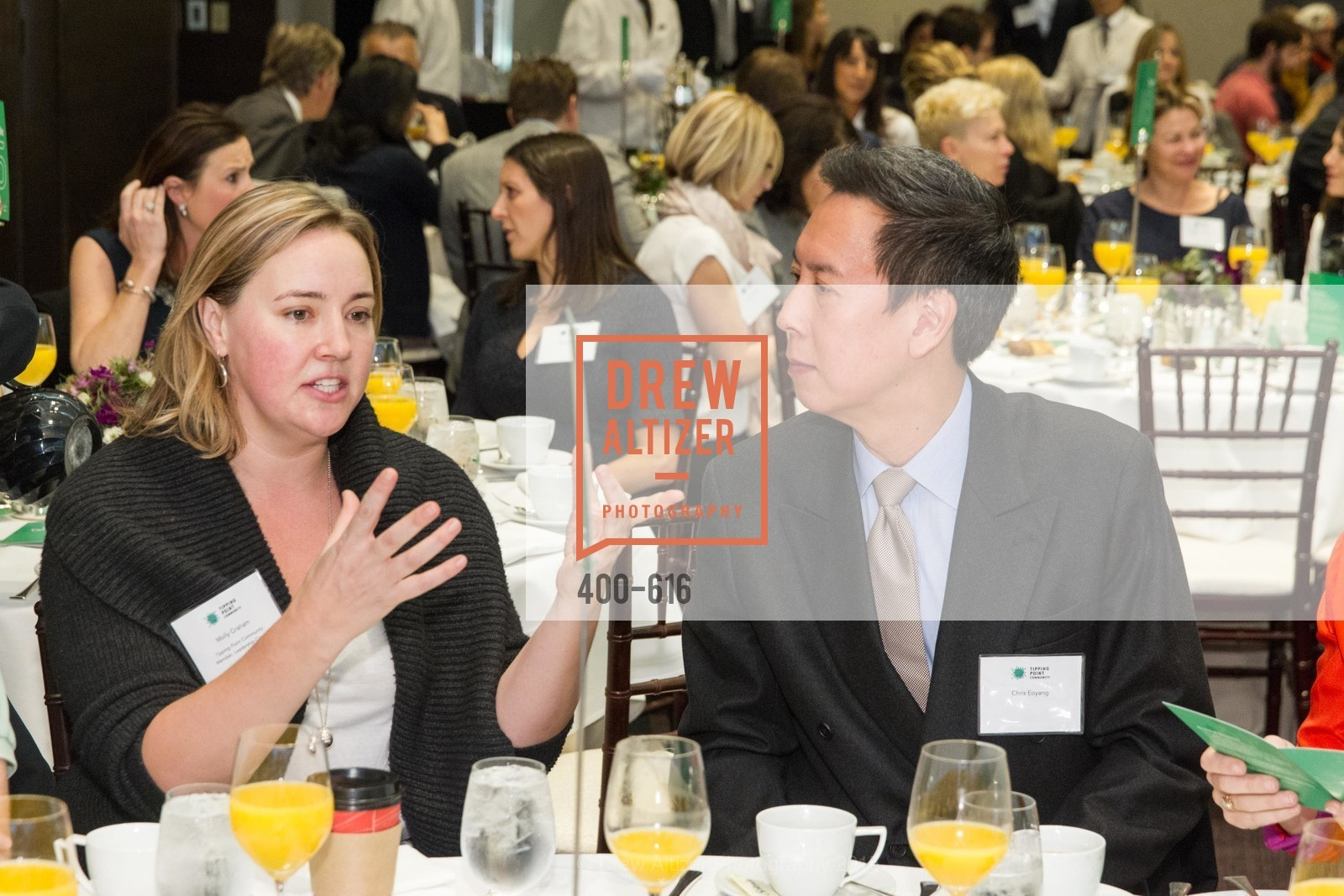 Molly Graham, Chris Eoyang, Tipping Point's 2015 Breakfast, St. Regis. 125 3rd St, December 3rd, 2015,Drew Altizer, Drew Altizer Photography, full-service agency, private events, San Francisco photographer, photographer california