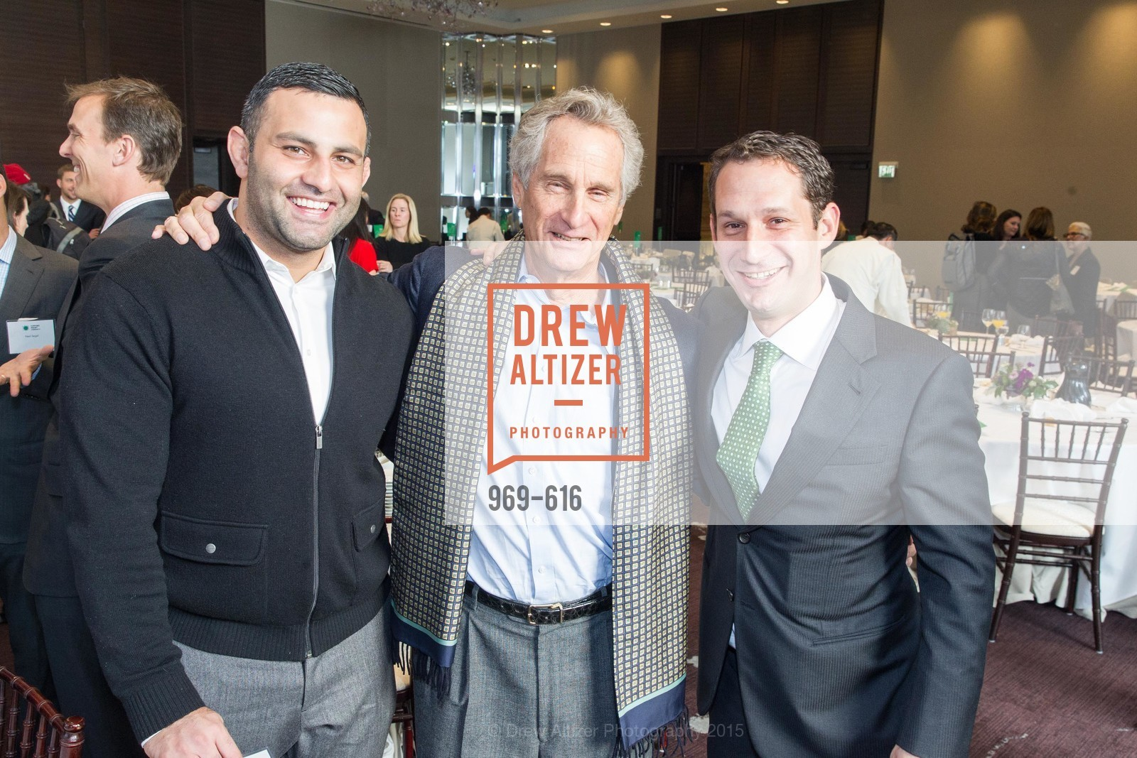 Tareq Azim, Brian Lurie, Daniel Lurie, Tipping Point's 2015 Breakfast, St. Regis. 125 3rd St, December 3rd, 2015,Drew Altizer, Drew Altizer Photography, full-service agency, private events, San Francisco photographer, photographer california