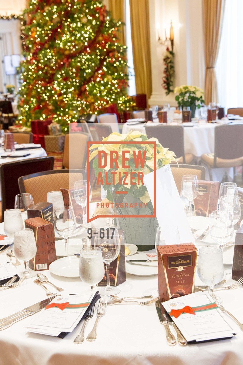 Atmosphere, Boy's & Girls' Towns of Italy Holiday Luncheon, The Olympic Club. 524 Post Street, December 3rd, 2015