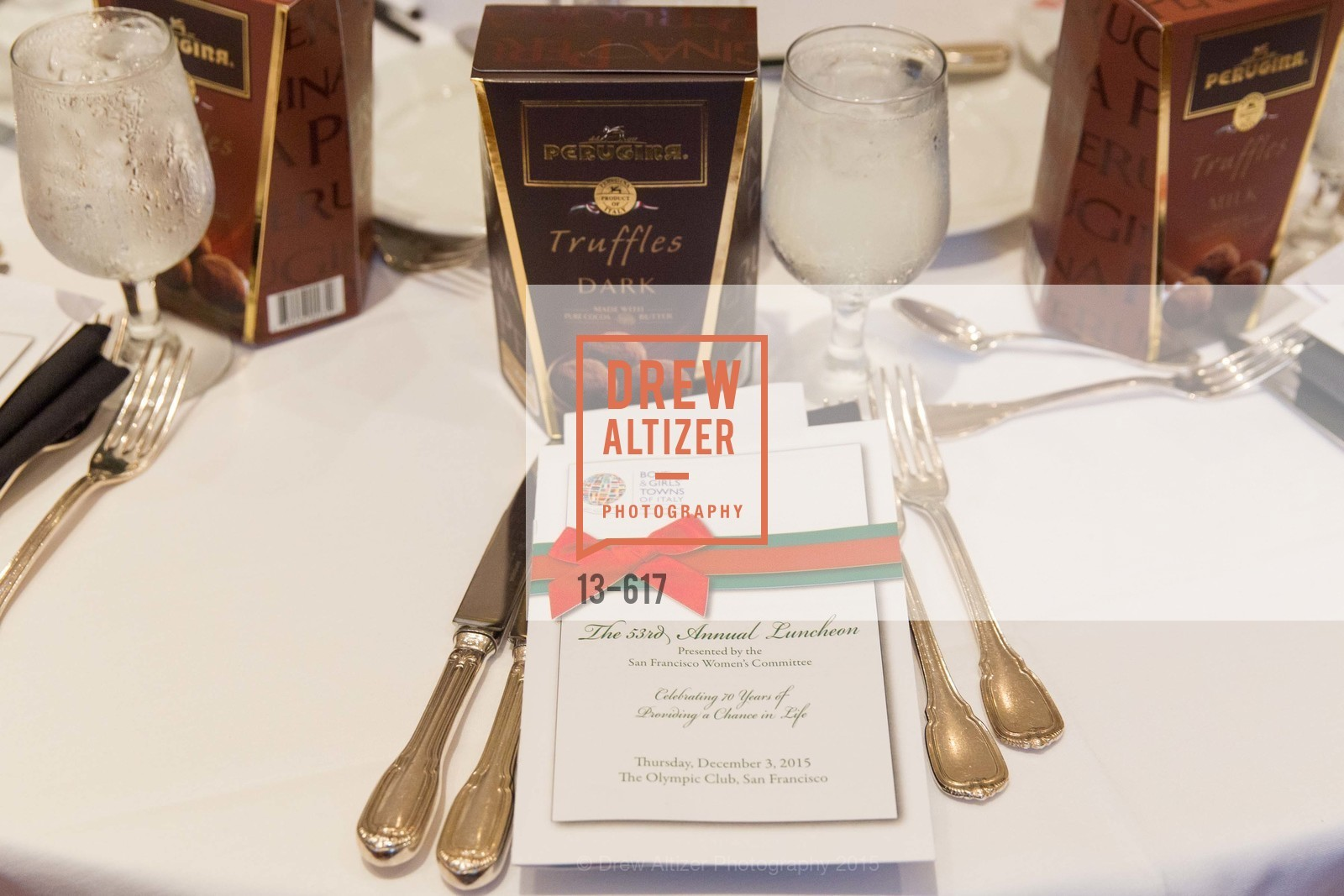Atmosphere, Boy's & Girls' Towns of Italy Holiday Luncheon, The Olympic Club. 524 Post Street, December 3rd, 2015,Drew Altizer, Drew Altizer Photography, full-service agency, private events, San Francisco photographer, photographer california