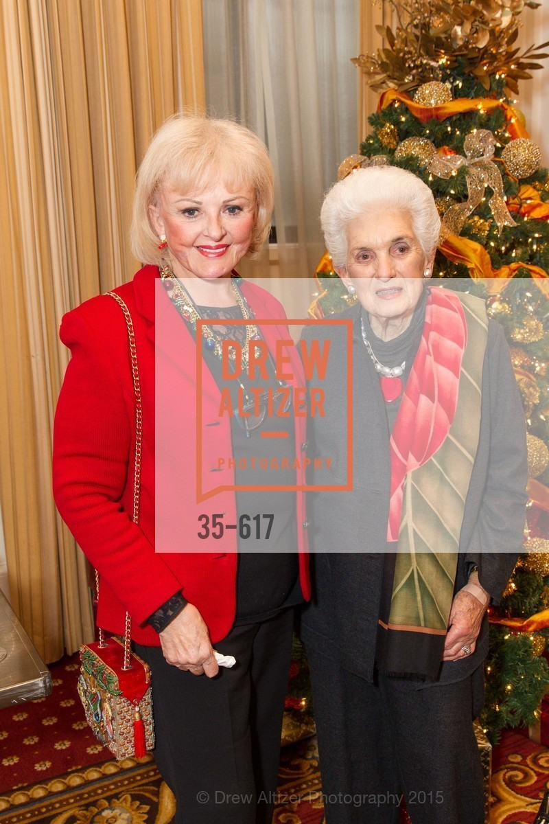 Anne Henderson, Ada Regan, Boy's & Girls' Towns of Italy Holiday Luncheon, The Olympic Club. 524 Post Street, December 3rd, 2015,Drew Altizer, Drew Altizer Photography, full-service agency, private events, San Francisco photographer, photographer california
