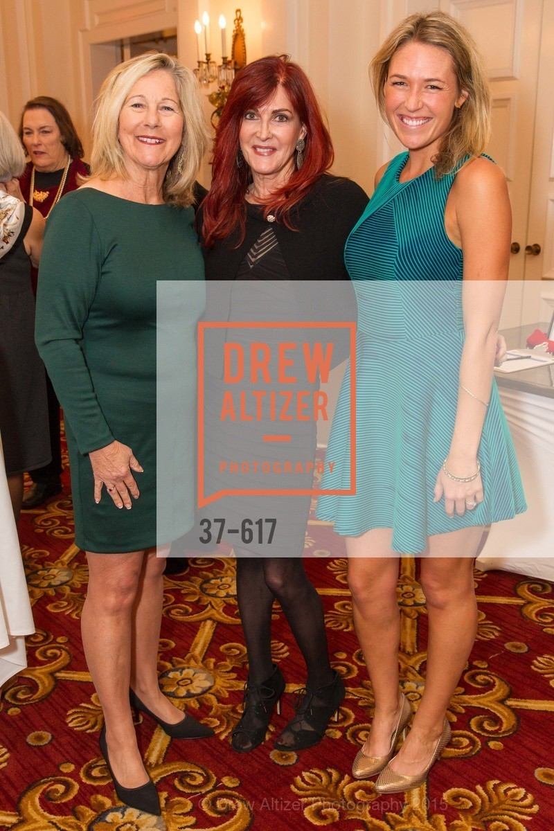 Jeanne Wilson, Michelle Garber, Sarah Wilson, Boy's & Girls' Towns of Italy Holiday Luncheon, The Olympic Club. 524 Post Street, December 3rd, 2015,Drew Altizer, Drew Altizer Photography, full-service agency, private events, San Francisco photographer, photographer california