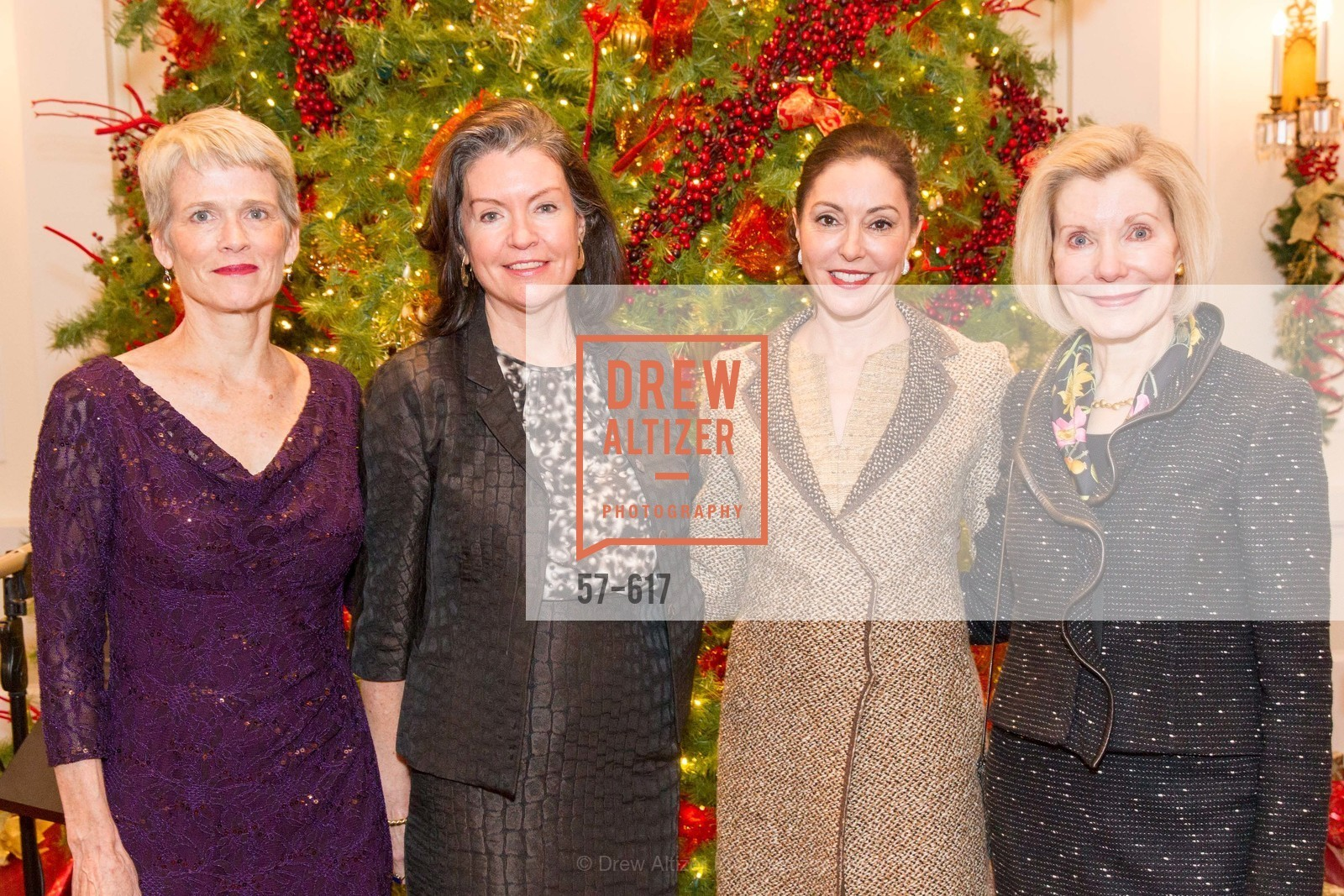 Lauren Ross, Elizabeth Birka-White, Marybeth Lamotte, Barbara Traisman, Boy's & Girls' Towns of Italy Holiday Luncheon, The Olympic Club. 524 Post Street, December 3rd, 2015,Drew Altizer, Drew Altizer Photography, full-service agency, private events, San Francisco photographer, photographer california