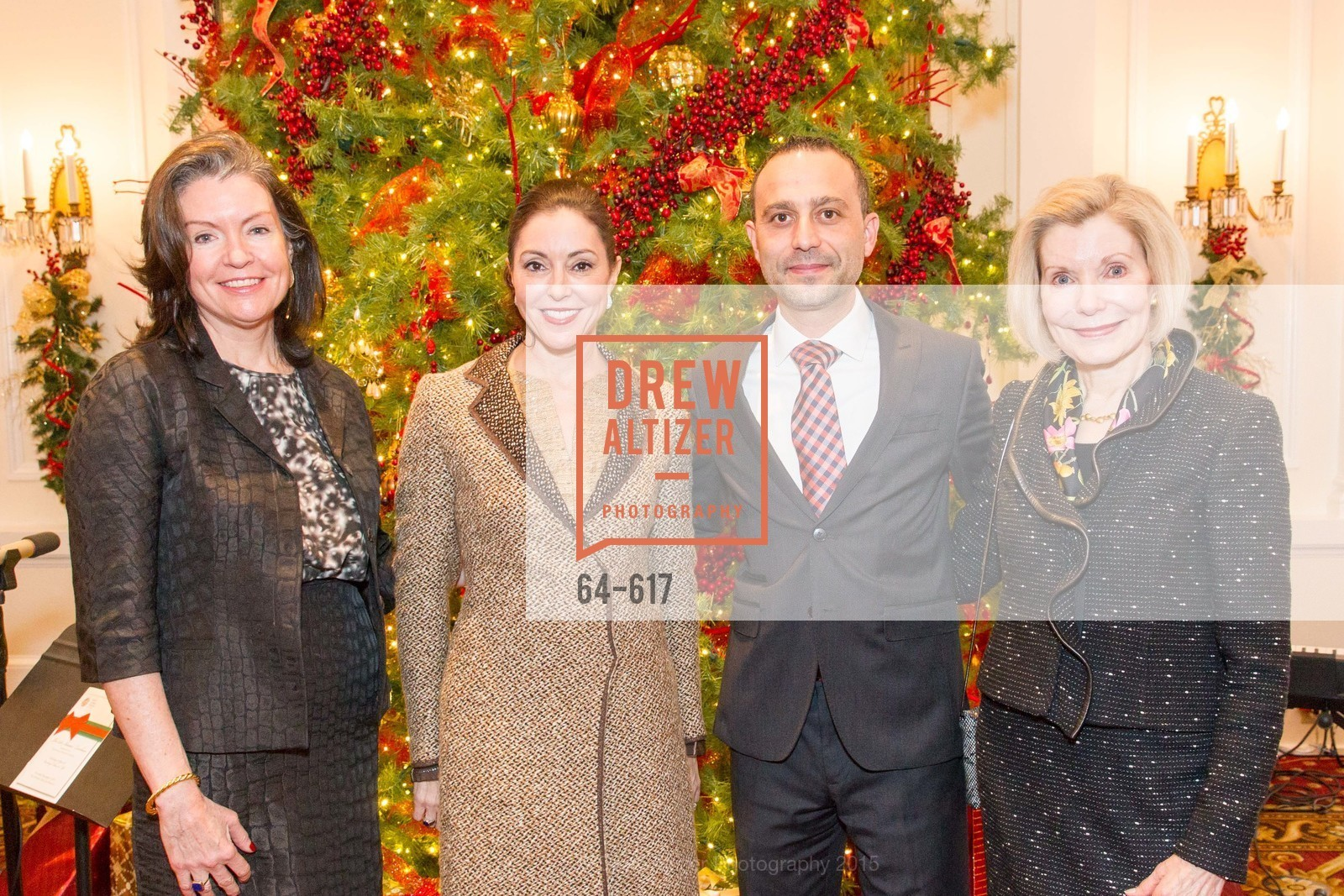 Elizabeth Birka-White, Marybeth Lamotte, Gabriele Delmonaco, Boy's & Girls' Towns of Italy Holiday Luncheon, The Olympic Club. 524 Post Street, December 3rd, 2015,Drew Altizer, Drew Altizer Photography, full-service agency, private events, San Francisco photographer, photographer california