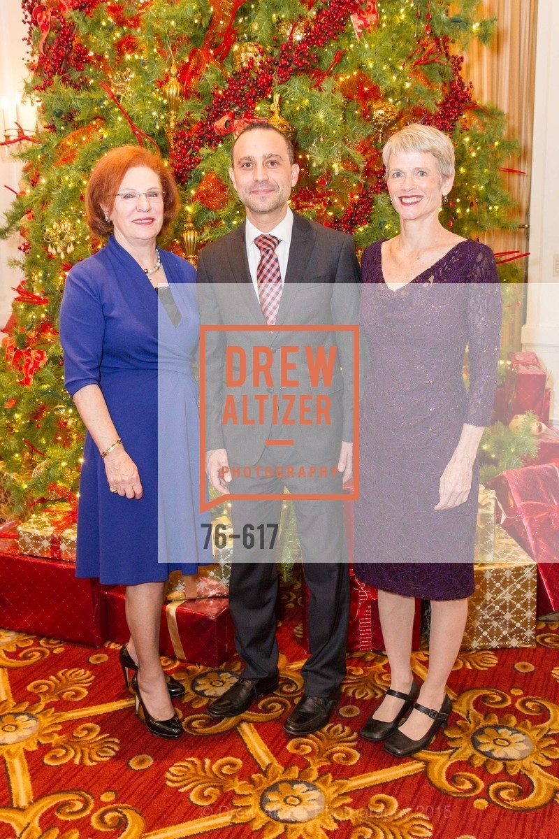 Romana Bracco, Gabriele Delmonaco, Lauren Ross, Boy's & Girls' Towns of Italy Holiday Luncheon, The Olympic Club. 524 Post Street, December 3rd, 2015,Drew Altizer, Drew Altizer Photography, full-service agency, private events, San Francisco photographer, photographer california